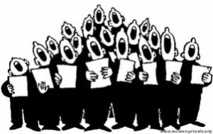mannen koor